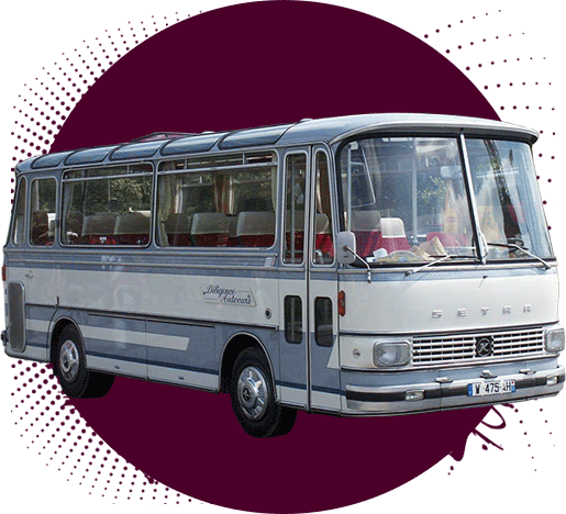 transport touristique en le de france diligence autocars. Black Bedroom Furniture Sets. Home Design Ideas
